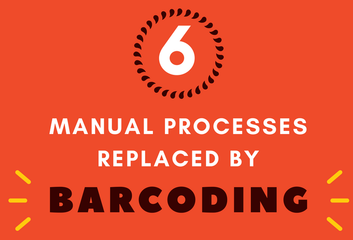 Manual Processes Replaced By Barcodes